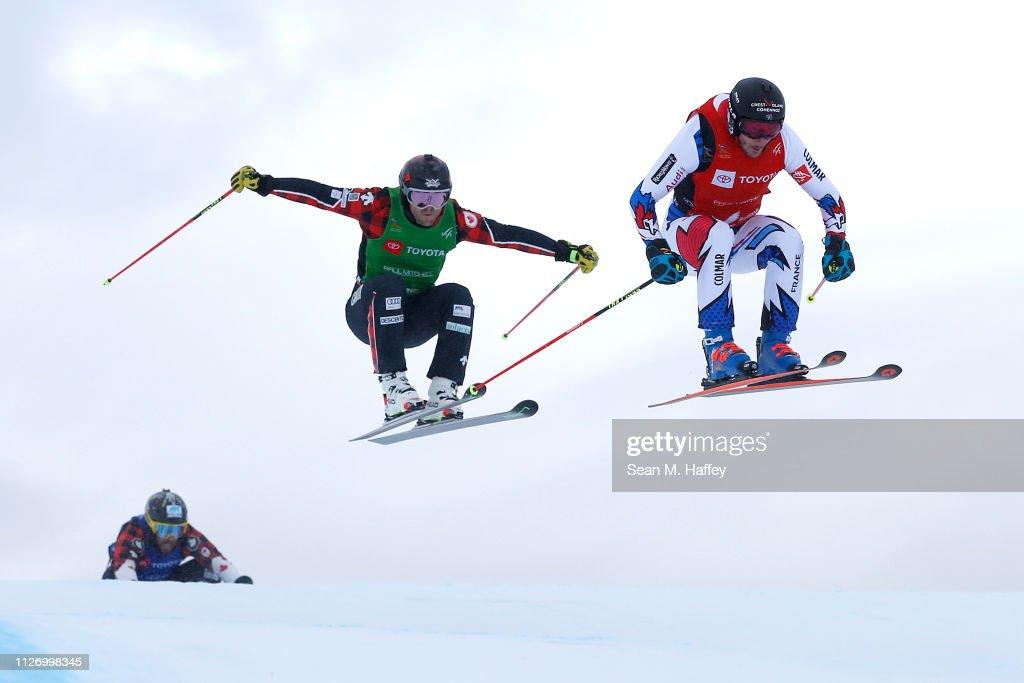 UT: FIS Freestyle Ski World Championships - Men's and Ladies' Ski Cross