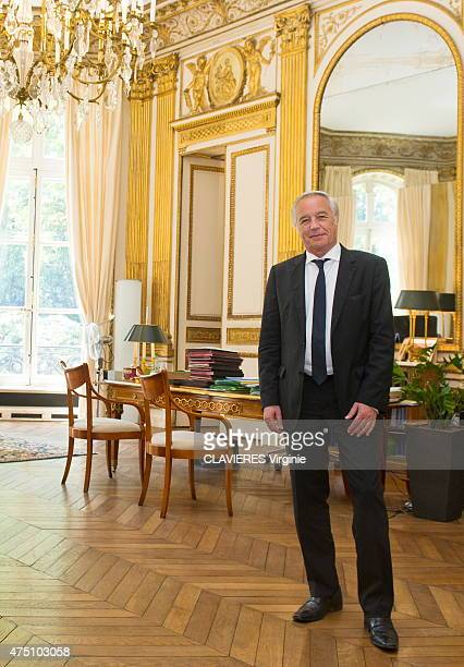 Francois RebsamenFrench minister of labor poses at his ministery in Paris on May 13 2015