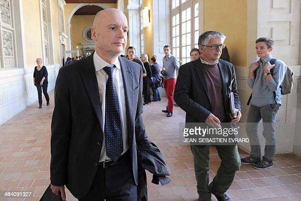 Francois SaintPierre lawyer of Maurice Agnelet reacts after Agnelet was sentenced to 20 years in prison on April 11 in Rennes western France A 20...