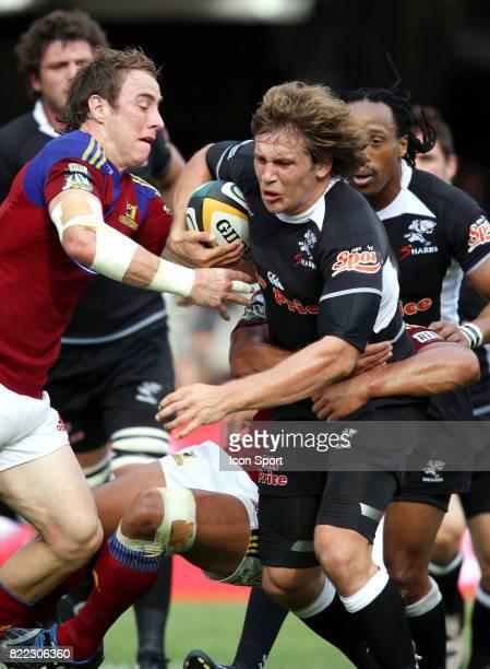 Francois STEYN Sharks / Highlanders Vodacom Super 14 Durban