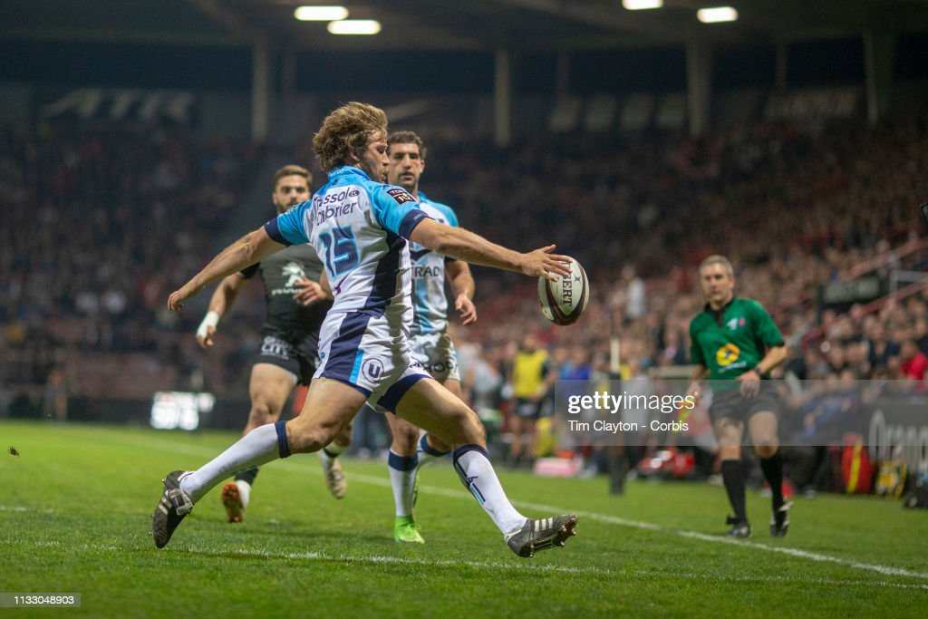 Stade Toulouse Vs Montpellier. : News Photo