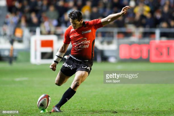 Francois Trinh Duc of Toulon during the Top 14 match between Toulon and Lyon OU on December 2 2017 in Toulon France