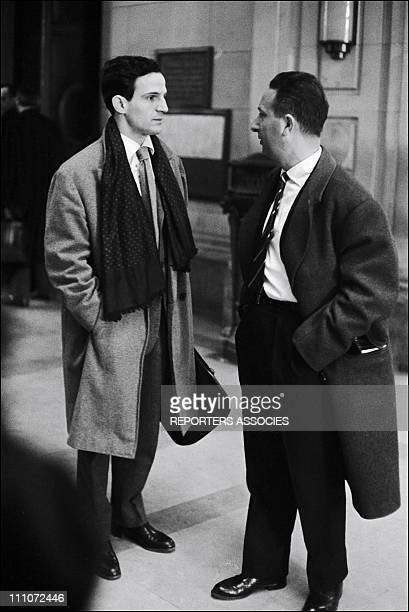 Francois Truffaut In France On January 1962