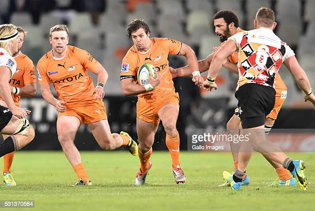 Francois Venter of the Cheetahs during the Super Rugby match between Toyota Cheetahs and Southern Kings at Toyota Stadium on May 14 2016 in...