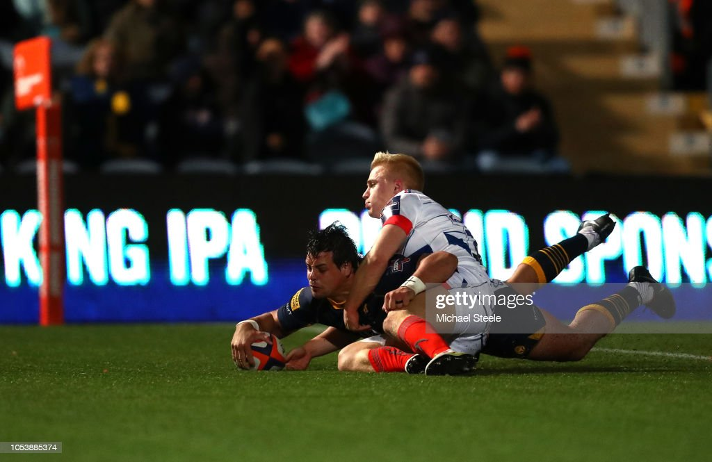 Worcester Warriors v Sale Sharks - Premiership Rugby Cup : News Photo