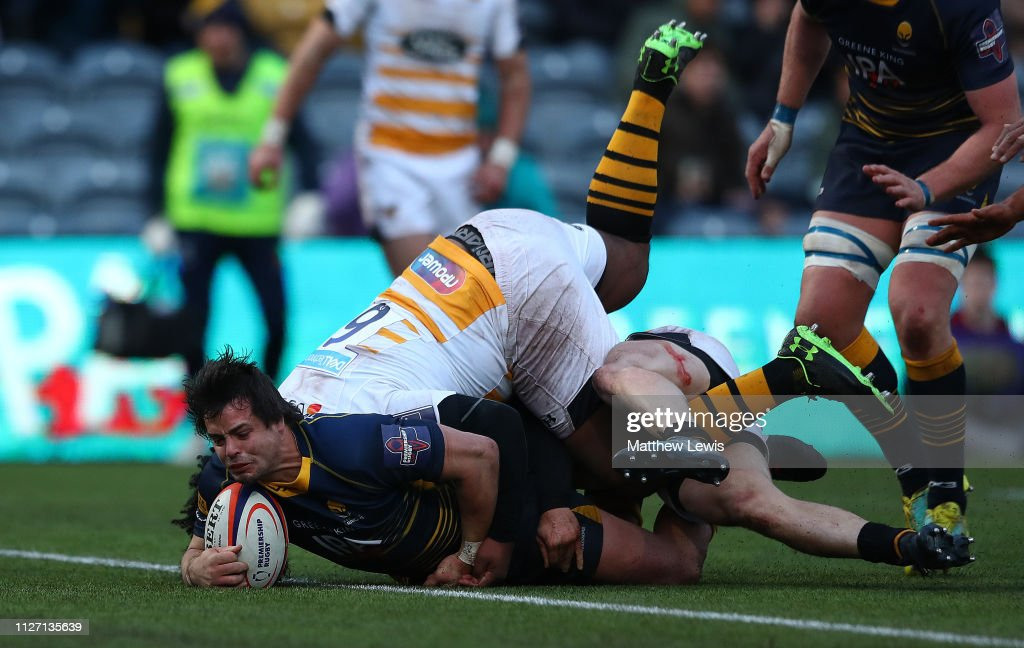 Worcester Warriors v Wasps - Premiership Rugby Cup : News Photo