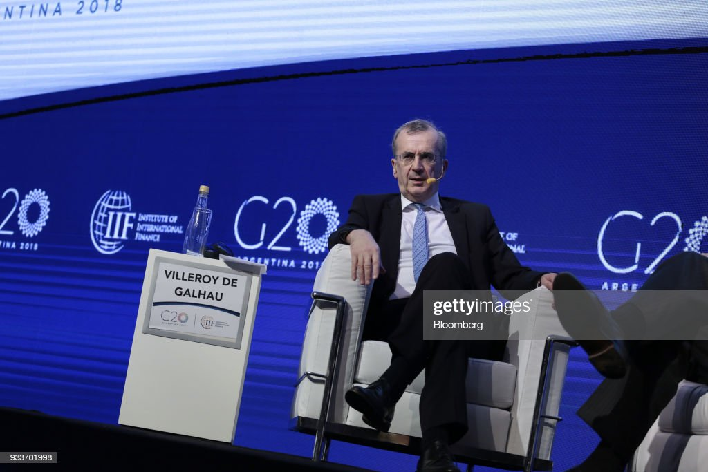 Key Speakers At The IIF G20 Conference : News Photo