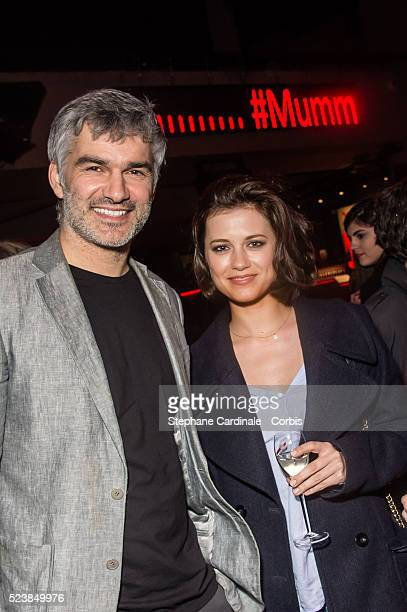 Francois Vincentelli and companion Alice Dufour attend the on April 23 2016 in Paris France