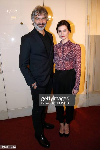 Francois Vincentelli and his wife Alice Dufour attend the 'Heart Gala' Evening to benefit the 'Mecenat Chirurgie Cardiaque' at Salle Gaveau on...
