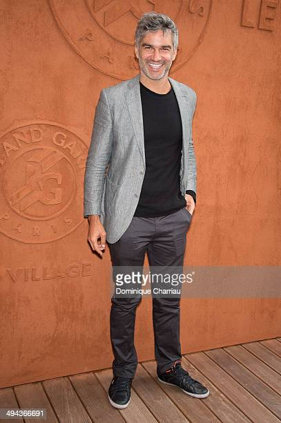 Francois Vincentelli attends the Roland Garros French Tennis Open 2014 Day 5 on May 29 2014 in Paris France