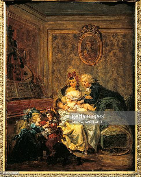 Francois Watteau The Happy Family