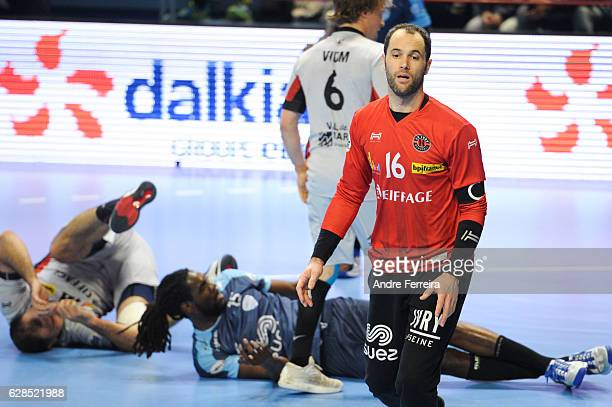 Francois Xavier Chapon of Ivry during the Lidl Star Ligue match between Creteil and Ivry on December 7 2016 in Creteil France