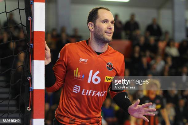 Francois Xavier Chapon of Ivry during the Lidl Star Ligue match between Ivry and Chambery on February 15 2017 in IvrysurSeine France