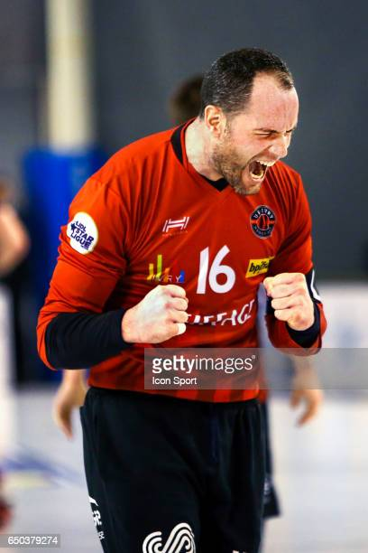 Francois Xavier Chapon of Ivry during the Lidl Starligue match between Ivry and Saran on March 8 2017 in IvrysurSeine France