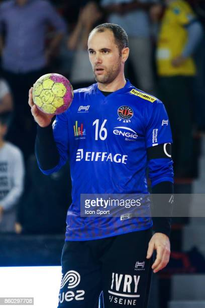 Francois Xavier Chapon of Ivry during the Lidl Starligue match between Ivry and Massy on October 11 2017 in IvrysurSeine France