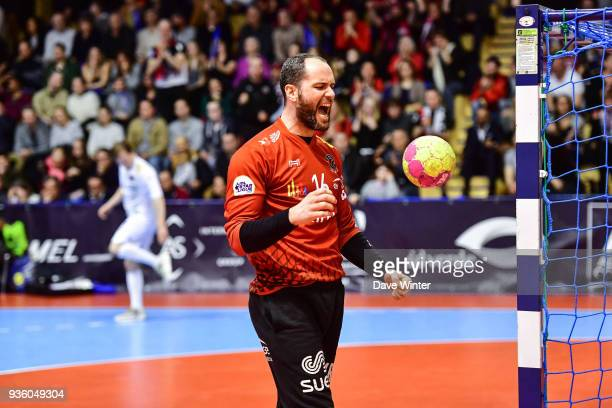 Francois Xavier Chapon of Ivry during the Lidl Starligue match between Massy and Ivry on March 21 2018 in Massy France