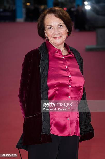 """Francoise Arnoul attends the """"In Dubious Battle"""" Premiere during the 42nd Deauville American Film Festival on September 5, 2016 in Deauville, France."""