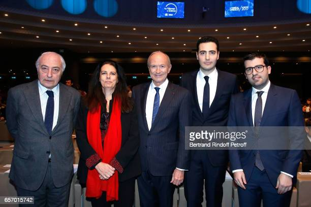 Francoise Bettencourt Meyers her husband JeanPierre Meyers Chairman Chief Executive Officer of L'Oreal and Chairman of the L'Oreal Foundation...