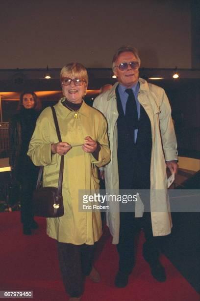 Francoise Dorin and Jean Piat at the Theatre de l'Empire