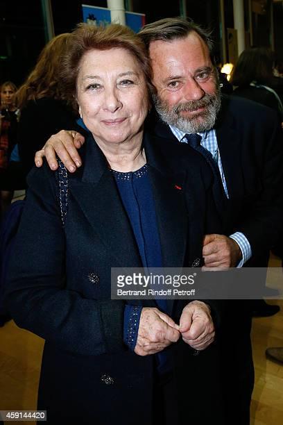 Francoise Dumas and Louis Benech attend the 'Maison de Solenn' 10th Anniversary on November 17 2014 in Paris France