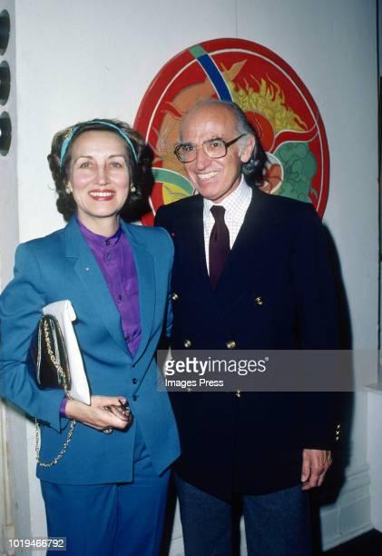 Francoise Gilot and Dr Jonas Salk circa 1980 in New York