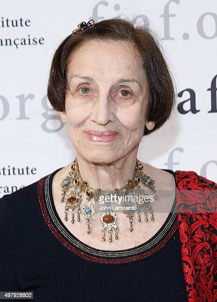 Francoise Gilot attends 2015 Trophee Des Arts Gala at The Plaza Hotel on November 19 2015 in New York City