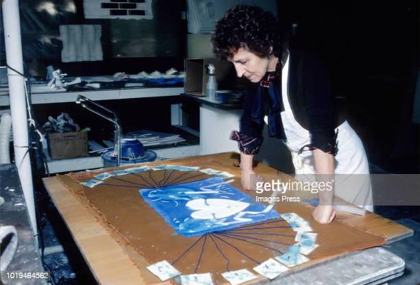 Francoise Gilot circa 1980 in New York