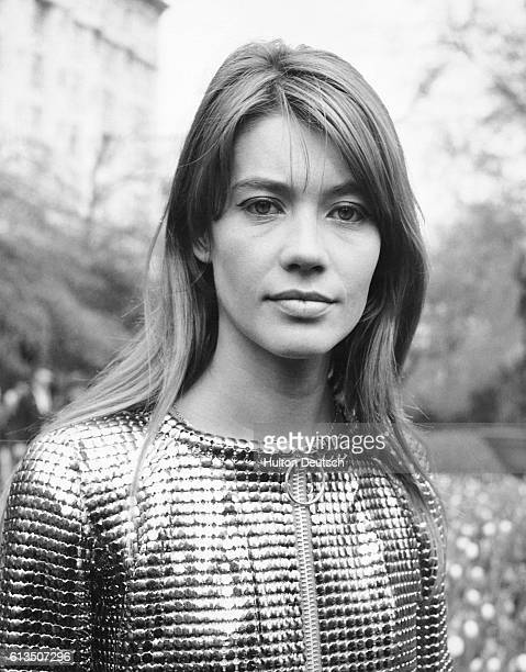 Francoise Hardy, who is at present appearing in Cabaret at London's Savoy Hotel.