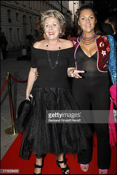 Francoise Laborde Princess Hermine of Clermont Tonnerre at 6th Charity Gala Of Ifrad Against Alzheimer 's Disease At Opera Comique In Paris