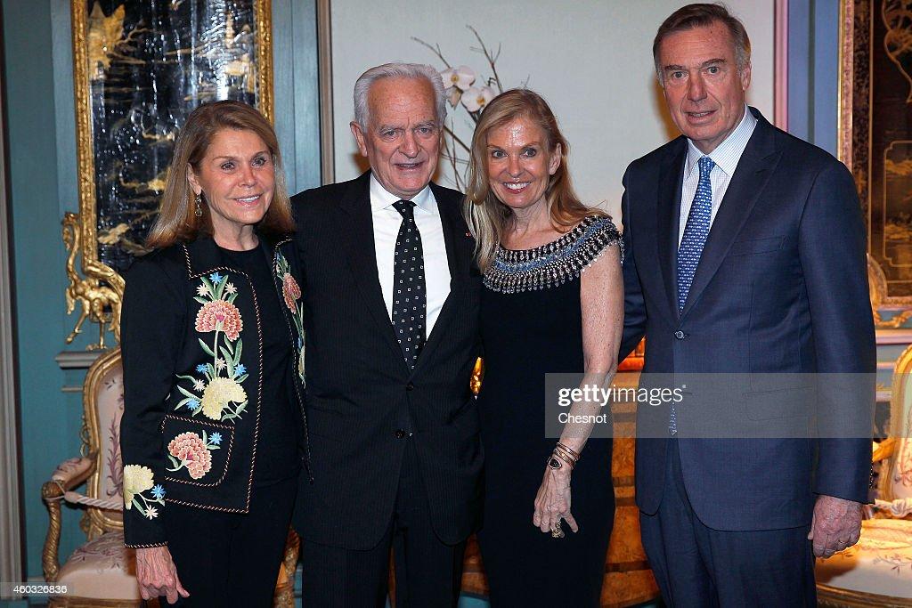 US 'Residence De L'Ambassadeur' : Cocktail Party In Paris