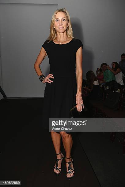 Francoise Lavertu attends the third day of MercedesBenz Fashion Week Mexico Autumn/Winter 2014 at Campo Marte on April 3 2014 in Mexico City Mexico