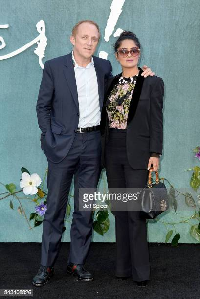 FrancoisHenri Pinault and Salma Hayek attend the 'Mother' UK premiere at Odeon Leicester Square on September 6 2017 in London England