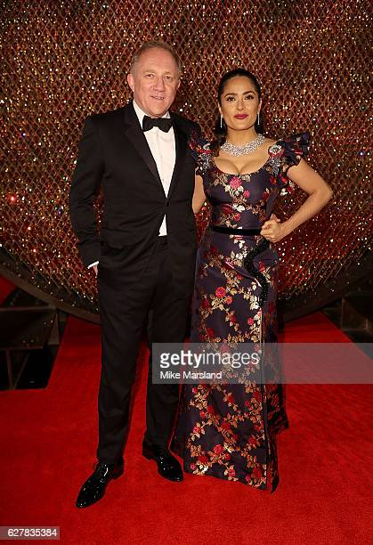 FrancoisHenri Pinault and Salma Hayek attends The Fashion Awards 2016 on December 5 2016 in London United Kingdom