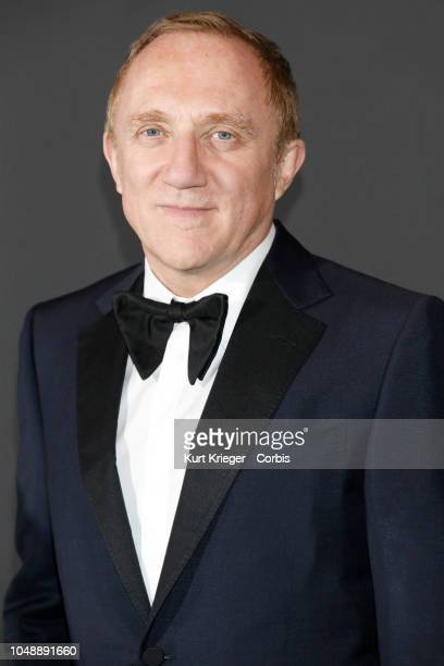 FrancoisHenri Pinault at the Women in Motion Awards Dinner presented by Kering and the 71th Cannes Film Festival at Place de la Castre on May 13 2018...