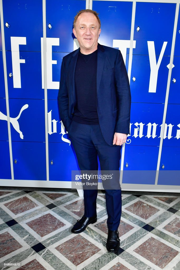 Francois-Henri Pinault attends FENTY PUMA by Rihanna Fall / Winter 2017 Collection at Bibliotheque Nationale de France on March 6, 2017 in Paris, France.