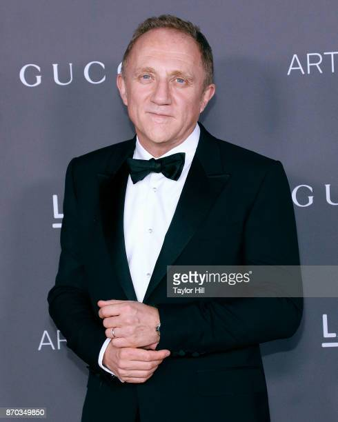 FrancoisHenri Pinault attends the 2017 Art Film Gala at LACMA on November 4 2017 in Los Angeles California