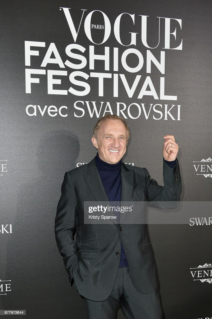 Francois-Henri Pinault attends the Vogue Fashion Festival 2017 Photocall at Hotel Potocki on November 23, 2017 in Paris, France.
