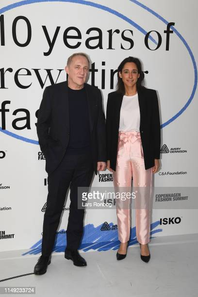 FrançoisHenri Pinault Chairman and CEO Kering and Brune Poirson French Secretary of State to Minister for the Ecological and Inclusive Transition...