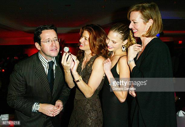 FrancoisHenry Bennahmias Debra Messing Estella Warren and Allison Janney