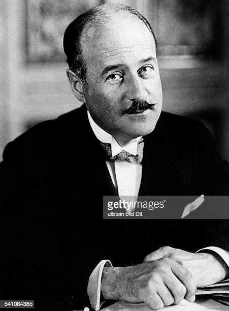 FrancoisPoncet Andre *13061887Diplomat F als neuernannter Botschafter inBerlin Ende September 1931