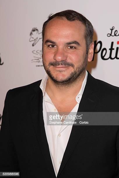FrancoisXavier Demaison attends the 'les vacances du petit Nicolas' Premiere at Cinema Gaumont Capucine in Paris