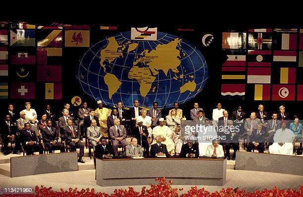 'Francophonie' Summit In Mauritius On October 18th 1993