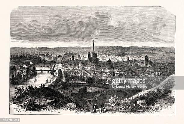 Rouen Capital Of Normandy 1870