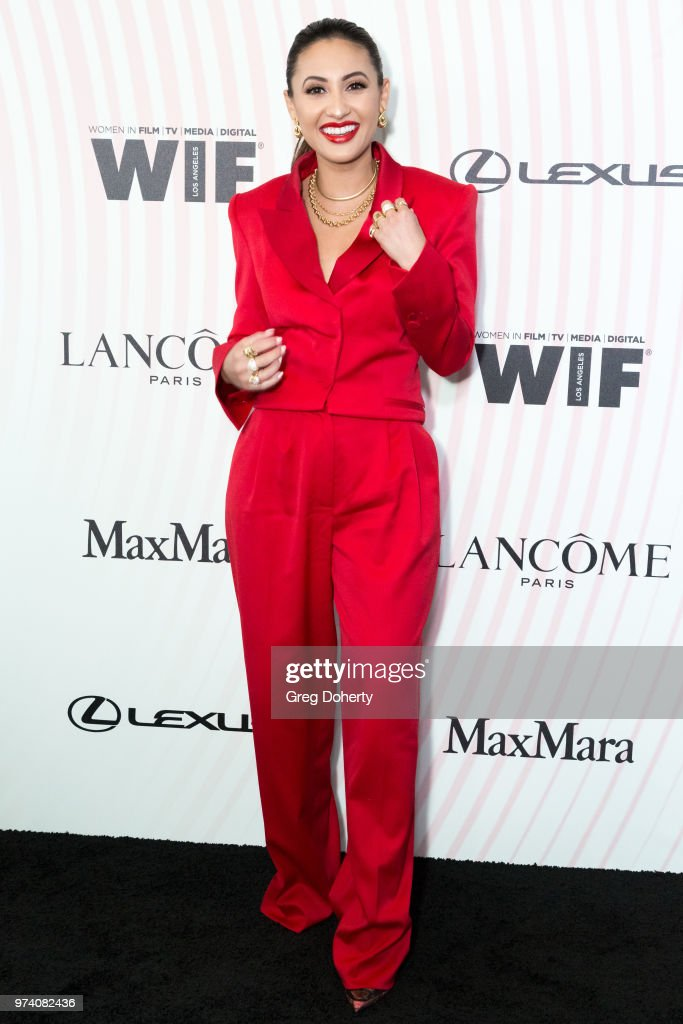 Francsia Raisa attends Women In Film 2018 Crystal + Lucy Award at The Beverly Hilton Hotel on June 13, 2018 in Beverly Hills, California.