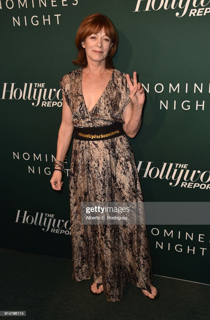 Franes Fisher attends the Hollywood Reporter's 6th Annual Nominees Night at CUT on February 5, 2018 in Beverly Hills, California.