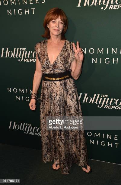 Franes Fisher attends the Hollywood Reporter's 6th Annual Nominees Night at CUT on February 5 2018 in Beverly Hills California