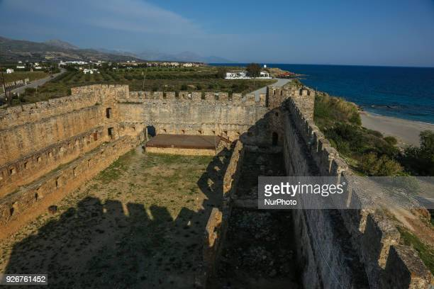 Frangokastello is a castle and settlement in the South coast of Crete island in Greece There is also a sandy beach with shallow water that attracts...