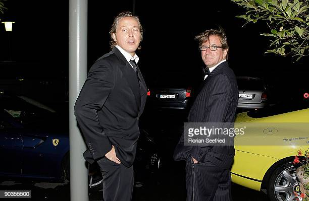 Franjo Pooth and Thomas Haffa attend the 'UNICEFGala' at Park Hotel on September 5 2009 in Bremen Germany