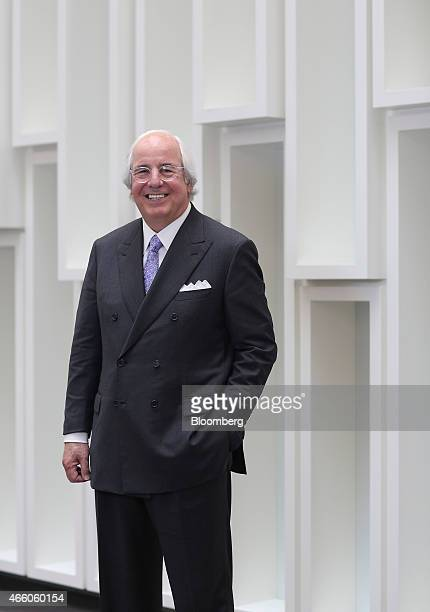 Frank Abagnale a security expert for the FBI poses for a photograph following an interview in London UK on Wednesday March 11 2015 Abagnale who made...