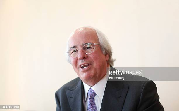 Frank Abagnale a security expert for the FBI speaks during an interview in London UK on Wednesday March 11 2015 Abagnale who made $25 million in the...